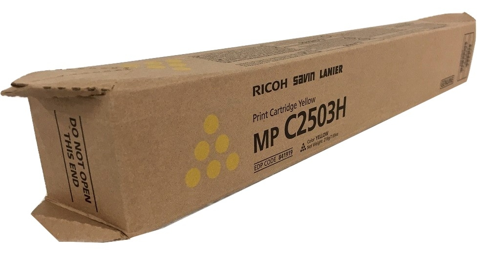 TONER RICOH MP C2503H Yellow
