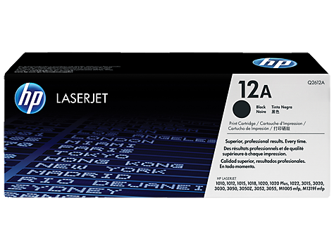 TONER HP Q2612A  (12A) CARTUCHO ORIGINAL